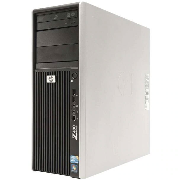 an HP desktop computer